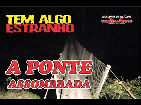PESSOAS SÃO PUXADAS NA PONTE ASSOMBRADA DURATE A NOITE.