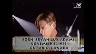 MTV Coca Cola Report 1991 - Bryan Adams 'All I Want Is You'