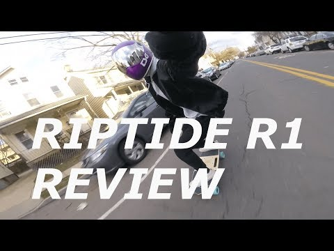 Riptide R1 Electric Skateboard Unboxing, Two Week Review + Raw Footage