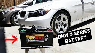 BMW E91 BATTERY REPLACEMENT E90 E92 E93 325i 328i 330i 335i 335d 325xi 328xi