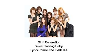 Girls' Generation - Sweet Talking Baby [Lyrics Romanized | SUB ITA]