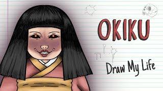 OKIKU, THE JAPANESE CURSED DOLL | Draw My Life