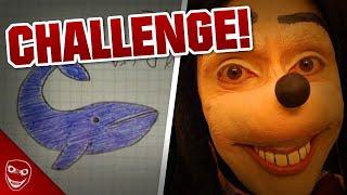 Die Challenges der Jonathan Galindo Challenge! Blue Whale Challenge!