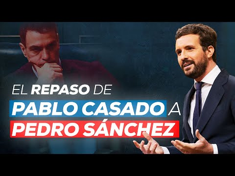 Pablo Casado interviene en el pleno del Congreso