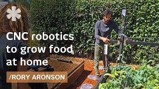 FarmBot: open source backyard robot for a fully automated garden