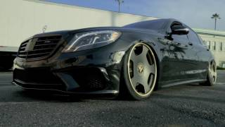 El Chapo Bagged Mercedes Benz S63   #BagsByBoden
