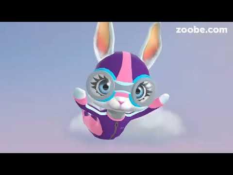 Zoobe Зайка -Поздравления для мальчиков .