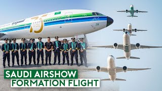My Most Exciting Flight – Flying Inside Saudi AirShow Formation Flight