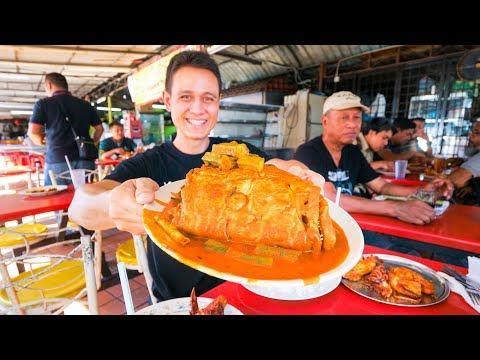 Download Big Fish Head Curry Tour - MALAYSIAN STREET FOOD in Kuala Lumpur, Malaysia! HD Mp4 3GP Video and MP3