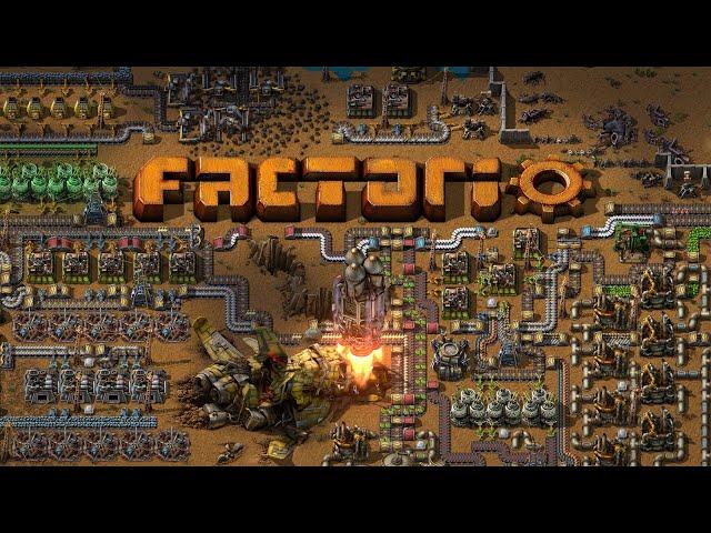 Легендарная индустриальная игра Factorio вышла в свет после восьми лет разработки
