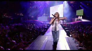 Hannah Montana - Nobody´s Perfect Live - Best Of Both Worlds Show