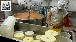 著名的阿尔卑斯奶酪是怎样纯手工做出来的