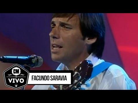 Facundo Saravia video Show en Vivo - CM 1996