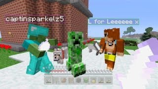 Minecraft Xbox - The Friendly Creeper [53]