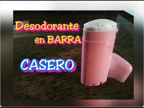 Desodorante CASERO en BARRA