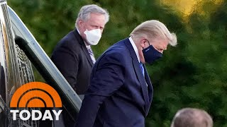 President Trump Treated With Remdesivir After Coronavirus Diagnosis | TODAY