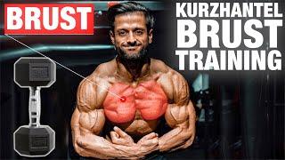 Die BESTEN Brust Kurzhantel Übungen | Training zu Hause