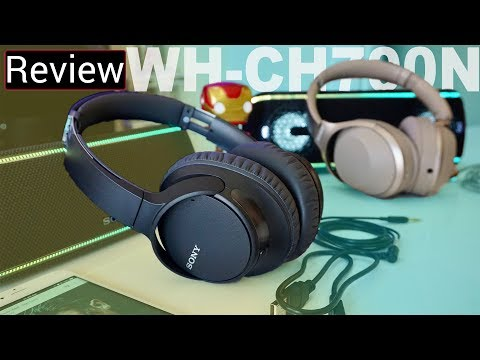 Sony WH-CH700N Review – They're A Lot Better Than I Expected