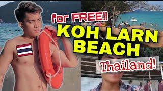 NEAREST ISLAND FROM BANGKOK? | KOH LARN BEACH PATTAYA THAILAND VLOG | KOH LARN BEACH PATTAYA