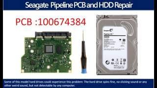 Seagate Pipeline  repair data recovery 100674384 ST2000VM003   ST2000VM002  ST31000322CS ST3500312CS