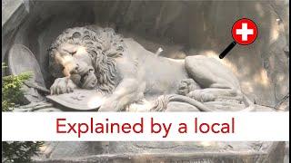 Lion Monument, Switzerland