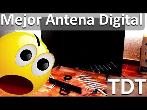 Antenas Para Televisión Digital TDT - Mejor Antena Tdt Interior