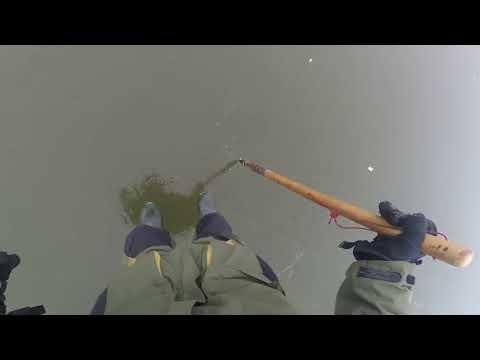 ПЕРВЫЙ ЛЕД 1.5 см хождение на глубине 9 метров и более