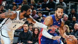 Brooklyn Nets vs Detroit Pistons - Game Highlights | January 25, 2020 | 2019-20 NBA Season