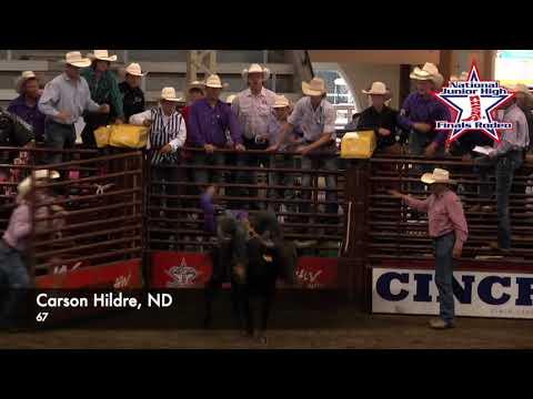 2021 NJHFR Bareback Steer Riding World Champion
