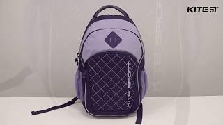 """Рюкзак спортивный Kite Sport K18-815L от компании Интернет-магазин """"Радуга"""" - школьные рюкзаки, канцтовары, творчество - видео"""