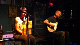 """Matt and Susie at New World Brewery 04/13/2011 """"Shotgun"""" Ida cover"""
