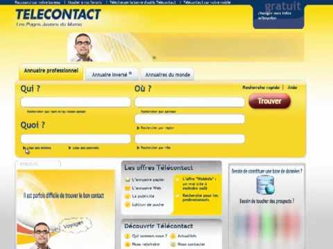 comment modifier l'adresse dans les pages jaunes