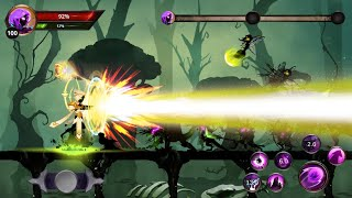 Stickman legends: shadow wars Android gameplay HD