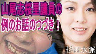 杉田水脈山尾志桜里議員の例のお話のつづき!
