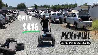 Wrecked BMW M3 gets All Parts at Pick N Pull for Only $416!!!