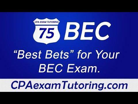 2020 CPA BEC Exam-