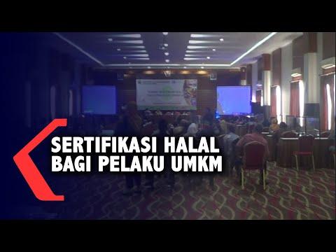 Dinkop UKM Bantu Sertifikasi Halal Bagi Pelaku UMKM
