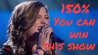 Sarah Simmons - One of Us, Full Blind Audition