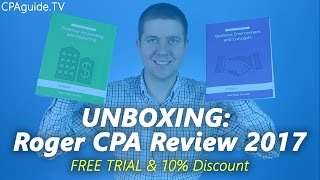 Unboxing becker cpa review 2017 cpa guide tv ep 10 most unboxing roger cpa review course 2017 cpa guide tv ep 6 fandeluxe Image collections