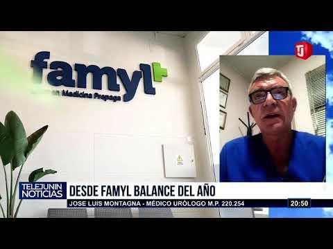 DESDE FAMYL BALANCE DEL AÑO