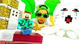 Видео Майнкрафт выживание. Строим дом для Стива Minecraft.