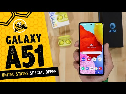 External Review Video BqrXT171N-M for Samsung Galaxy A51 5G Smartphone