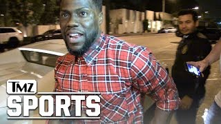 Kevin Hart Hilariously Says Why Eagles Will Crush Vikings | TMZ