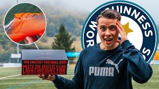 Dieser Fußballschuh hält einen Weltrekord!