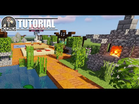 Zen Garden Ideas Schematic And Map Minecraft Map