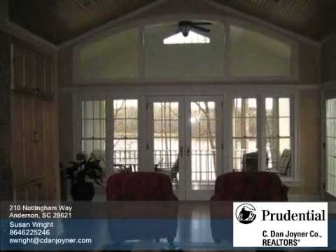 Video Homes for Sale - 210 Nottingham Way Anderson SC 29621 - Susan Wright