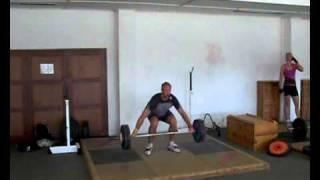 Robert Harting - snatch 130kg - 2011