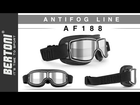 Occhiali Moto Vintage - Bertoni AF188 Tutorial