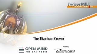 Titanium-Krone von Daishin