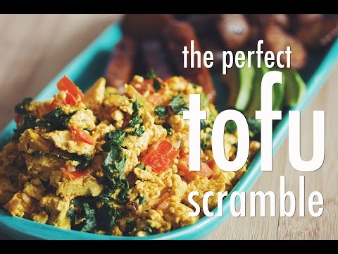 THE PERFECT TOFU SCRAMBLE | hot for food